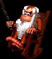 DKC Artwork Cranky Kong