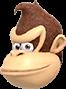 Donkey Kong (head) - MaS