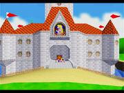 SM64 Screenshot Schlussszene