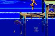 DKC3GBA Screenshot Wirbelnde Wellen 3