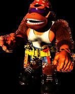 DKC3 Artwork Funky Kong