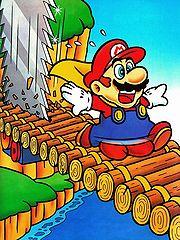 Mario dans les Twin Bridges