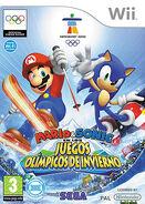 Mario y sonic en los juegos olimpicos de invierno-wii