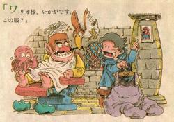 SML2 Wario in Mario's Castle