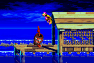 DKC3 Screenshot Stormy Seas