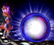 Mewtwo usando Bola sombra SMBM