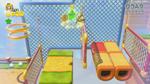 SM3DW Screenshot Akrobatik am Gitterzaun