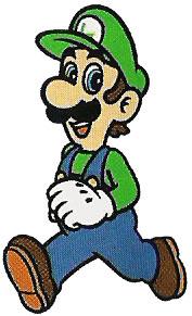 SMB2 Artwork Luigi