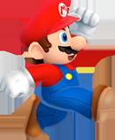 Марио в прыжке NSMB2
