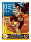 Carte amiibo Donkey Kong tennis