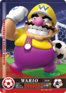 Carte amiibo Wario football