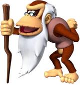 Cranky Kong Artwork - DK Jungle Climber