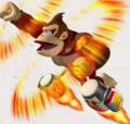 DKJRW Artwork Ultra Jet Donkey Kong