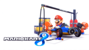 Mario Kart 8 Title Screen (Mario and Toad)