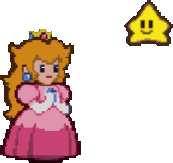 Princess Peach and Twink
