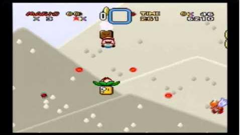 Super Mario World - Tubular (siendo mini Mario)