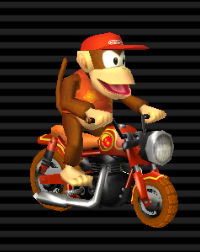 Cyclo Vroum - Diddy Kong