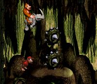 DKC Screenshot Dyna-Grotten