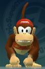 Diddy Kong dans MSBase-Ball