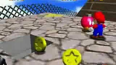 Super Mario 64 Walkthrough (Shoot Into The Wild Blue)