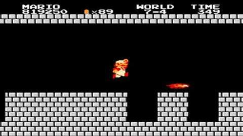 Super Mario Bros. - World 7-4