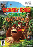Verpackung Donkey Kong Country Returns US