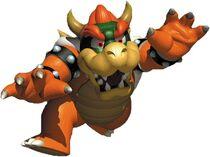 Art Bowser Mario 64 3