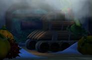 DKCTF Screenshot 5-6 Eis im Spiel (SMB3 Panzer Easteregg)