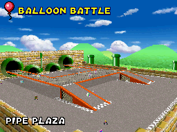 MKDS Pipe Plaza