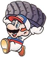 Mario with tire 3DHR