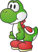 Paper yoshi by mariobros12smbx-d4vee4g