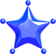Petiteétoiledecouleur (bleu)