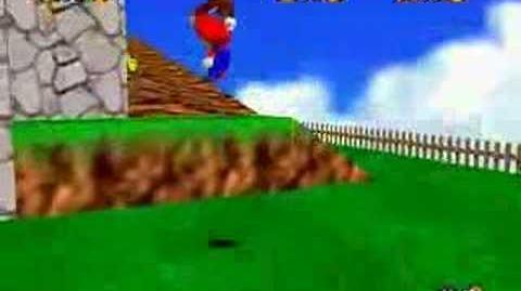 Super Mario 64 Walkthrough (Fall Onto The Caged Island)