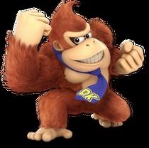 Art Donkey Kong rouge Ultimate
