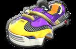 Corps Sneakart jaune violet