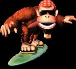 DKC Artwork Funky Kong 2