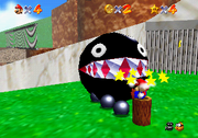 Behind Chain Chomp's Gate