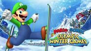 Luigi Voice Clips Mario & Sonic at the Olympic Winter Games
