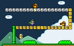 SMW Screenshot Funky