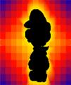 SPM Screenshot Dunkel-Luigi Fangkarte