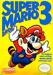 Super Mario Bros 3 - North American Boxart