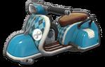 Corps Scooter bleu clair