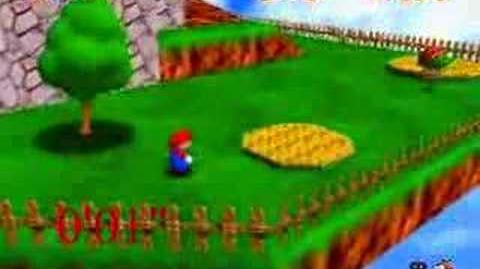 Myles ~ Super Mario 64 - Blast Away The Wall 0'08