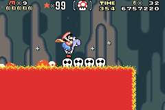 SMW Screenshot Vanille-Dom 3