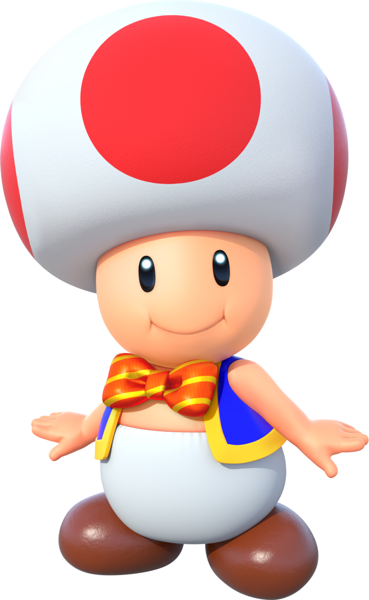 Toad (character) | MarioWiki | FANDOM powered by Wikia