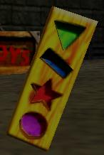 DK64 Screenshot Mr. Lineal