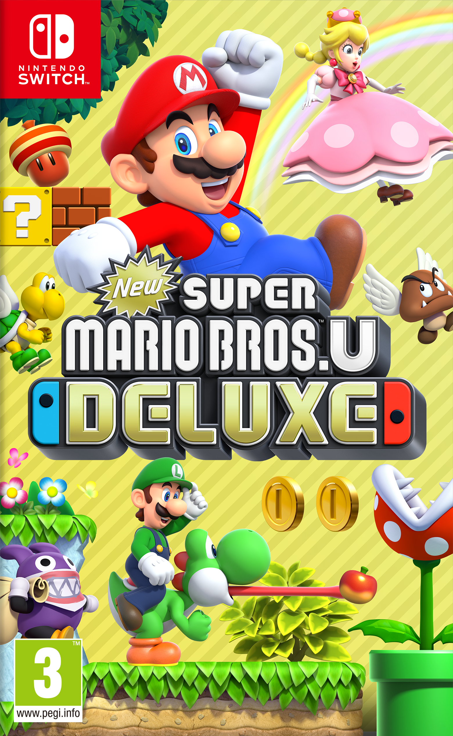New Super Mario Bros U Deluxe Wiki Mario Fandom Powered