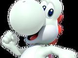 Weißer Yoshi