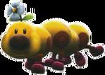 Wiggler Artwork - Super Mario Galaxy 2