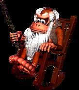 Cranky Kong - Donkey Kong Country